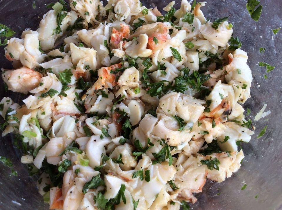 axa 2016 lobster salad